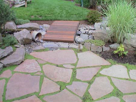 Pavimentos y caminos de jardines - Pavimentos para jardin ...